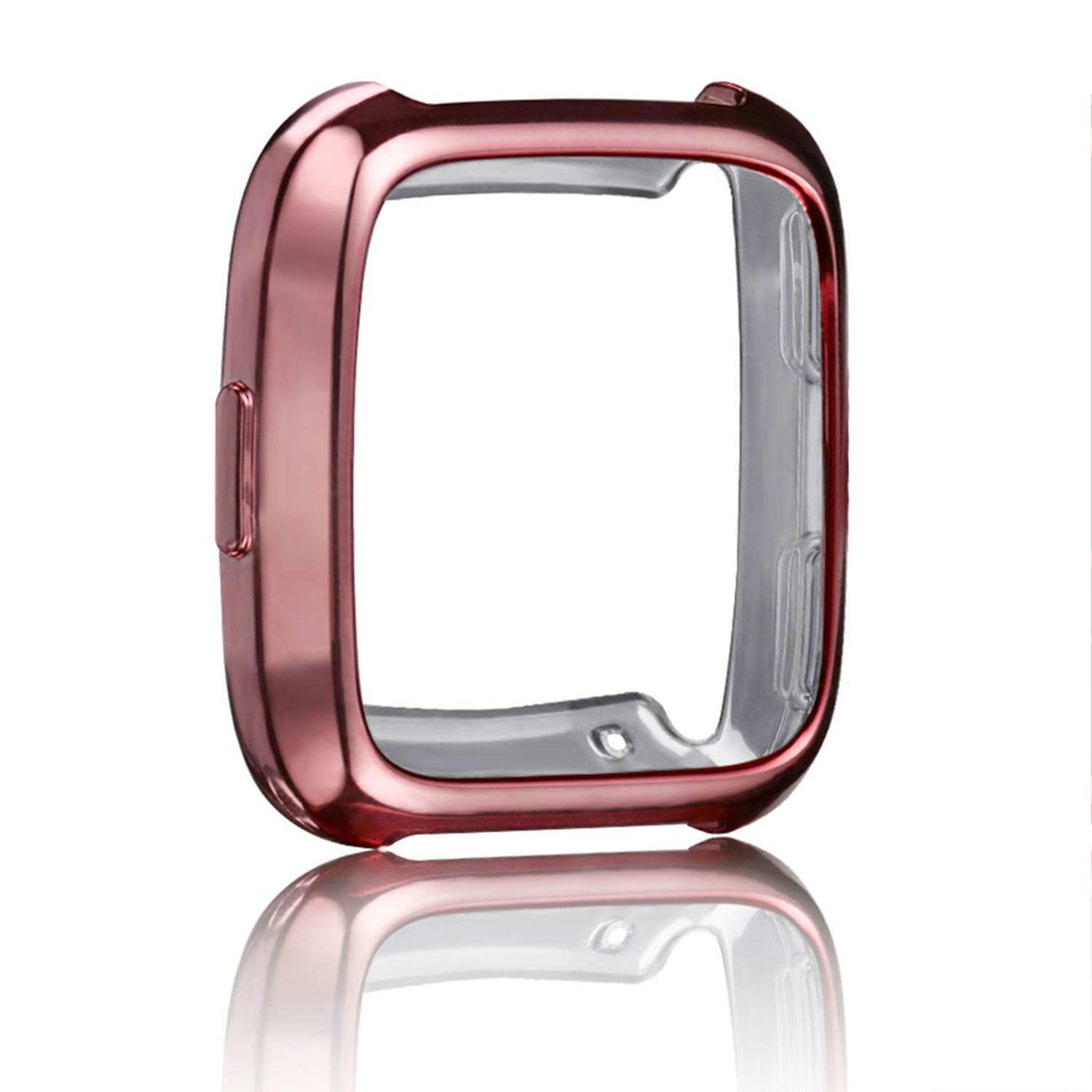 Amazon.com: For Fitbit Versa Watch case Plated, Rosa ...