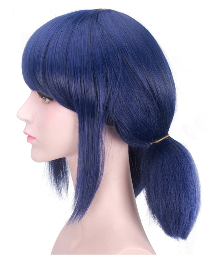 DAZCOS Blue Lady Bug Girl Cosplay Wig with Tails [ Adult/Child ] (Blue) by DAZCOS (Image #4)