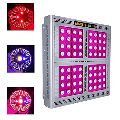Led Grow Light, MARS HYDRO Full Spectrum Grow Lights for High Yield Indoor Plants Veg and Flower,Plant Lights for Hydroponics(Pro II Epistar1600W )
