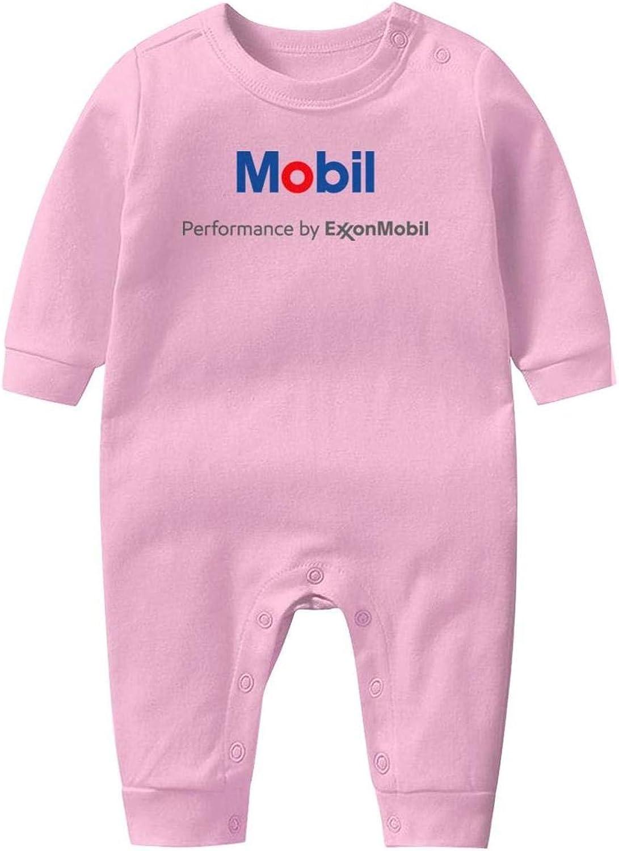 NIANLJHDe Esso-Logo-Symbol Baby Boys Girls Long Sleeve Baby Onesie Baby Romper