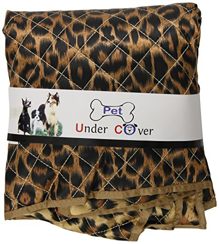 Pet Under Cover Kennel Cover for iCrate, Leopard Print, Small Leopard Print Pet Carrier