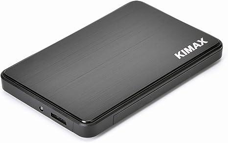 Caja externa USB 3.0 sin herramienta para disco duro SATA para portátil de 2,5 pulgadas. Alimentado por bus USB Black- usb 3.0: Amazon.es: Informática