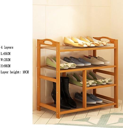 Shoe Rack Ynn Multilayer Assembly Shoe Cabinet Home Solid Wood