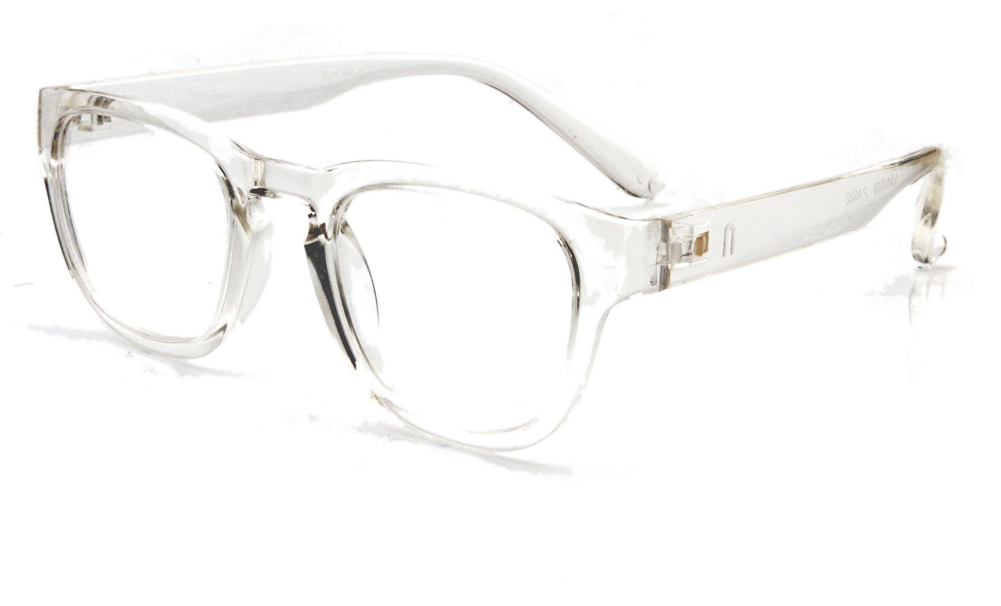 Nannini Paris Reading Glasses (+1.50, Crystal)