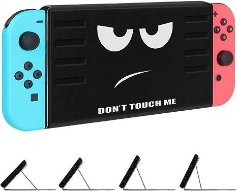 Fintie Funda Fina para Nintendo Switch - [Ángulos Múltiples] Carcasa con Soporte Magnético [Instalación/Eliminación Rápida] [Fácil para el Modo TV] para Nintendo Switch, No Tocar: Amazon.es: Informática