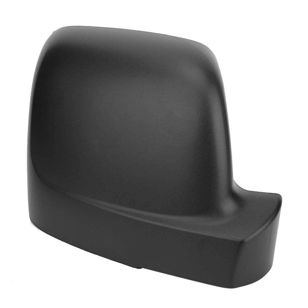 Par Matt Negro ABS Retrovisor ala Cubierta del Espejo Se Adapta Compatible con Fiat Talento 2016- Ala Cubierta del Espejo Derecho
