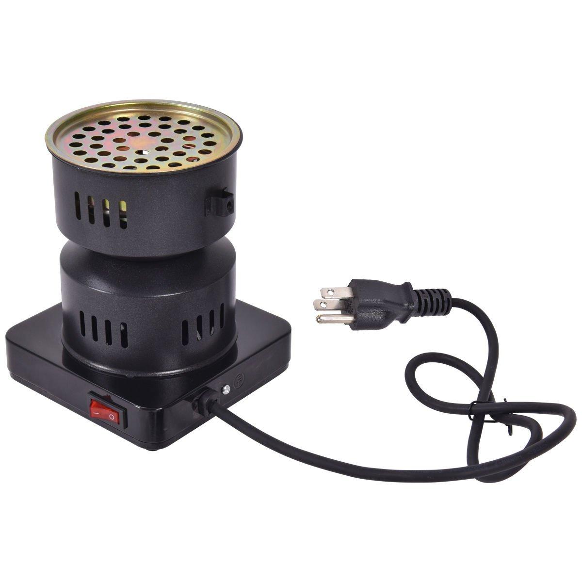 Giantex Electric Coal Starter Hookah Shisha Nargila Heater Stove Charcoal Burner BBQ