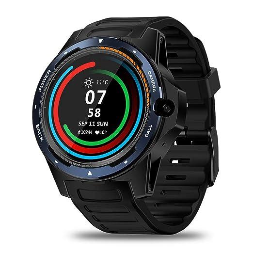 Smart Watch, Zeblaze Thor 5 Dual Systems 4G Smart Watch ...