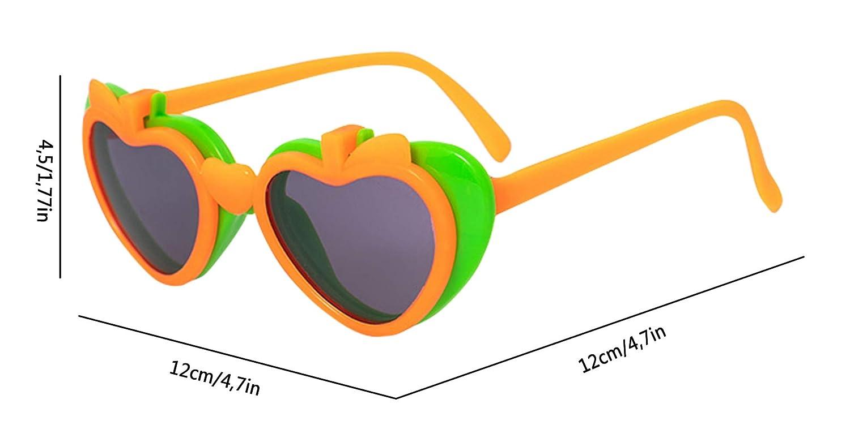 Gemvie Kids Polarized Cartoon Flip up Sunglasses Outdoor Travel UV400 Sunglasses Childrens Party Novelty Fancy Flip up Glasses