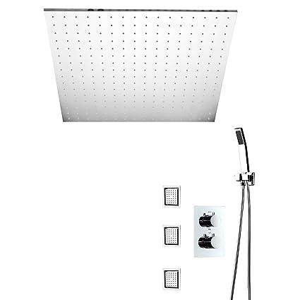 Juego De Mezclador De Ducha LED Para Baño Juego De Ducha De Lluvia, Ducha De