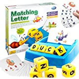 Abbros Matching Letter Board Game Word Recognition Learning The Alphabet Educational