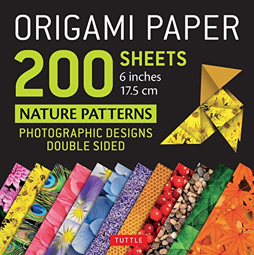 - Origami Paper 200 sheets Nature Patterns 6