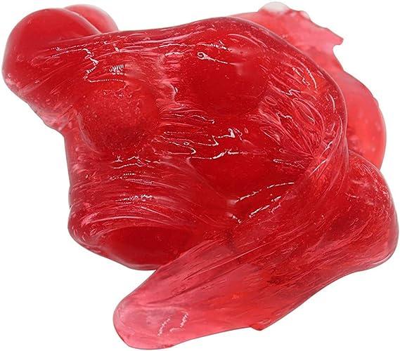 TianranRT 60 ml Plastilina de barro rojo cereza no tóxica ...