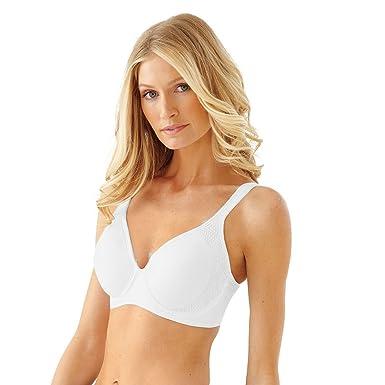 c960a1482085c Bali Active Classic Coverage Foam Underwire Bra 6567 at Amazon Women s  Clothing store