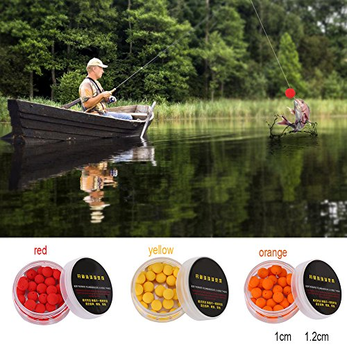 Carp floating artificial baits fishing lure fish beads pops up flavor smell SP