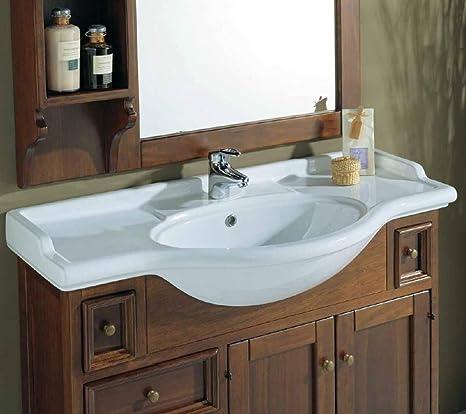 Consolle Bagno In Ceramica.Consolle Universale Sanitari Bagno Ceramica Linpha Lunghezza 105