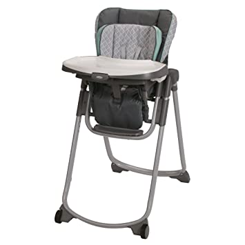 Graco Slim Spaces High Chair, Manor