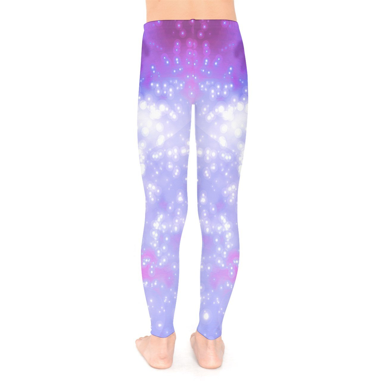 35726e673ff35 PattyCandy Galaxy Celestial and Night Sky Pattern Unisex Little & Big Kids  Long Stretch Leggings ...