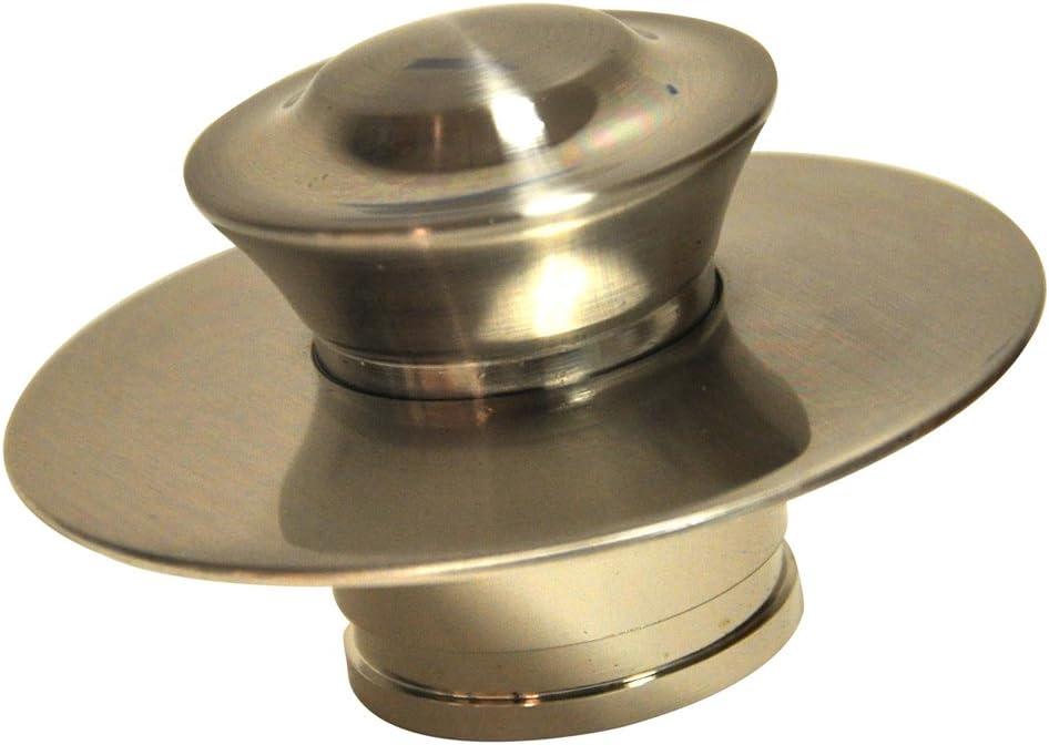 Danco EZ Drain Cover for Bathtub, Brushed Nickel, 10534 - Drain Stoppers -