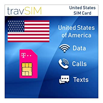 Amazon.com: Tarjeta SIM prepagada USA T-Mobile 50GB Mobile ...