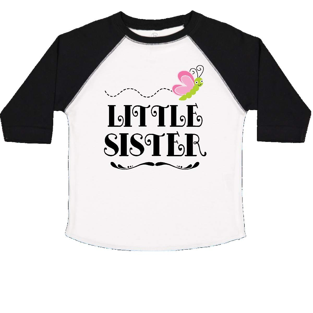inktastic Little Sister Outfit for Girls Toddler T-Shirt