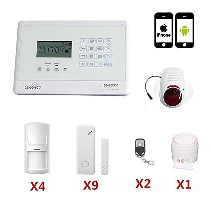 SZABTO El más nuevo teclado táctil inalámbrica GSM SMS Auto marcación inteligente sistema de alarma de
