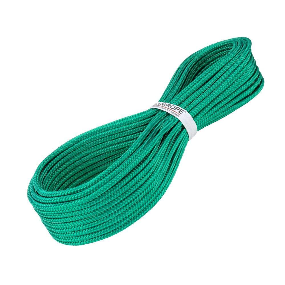 Kanirope/® PP Seil Polypropylenseil MULTIBRAID 4mm 50m geflochten Farbe Gr/ün 0117