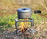 Sportneer Outdoor Cooking Tripod Stand | Stainless Steel,...