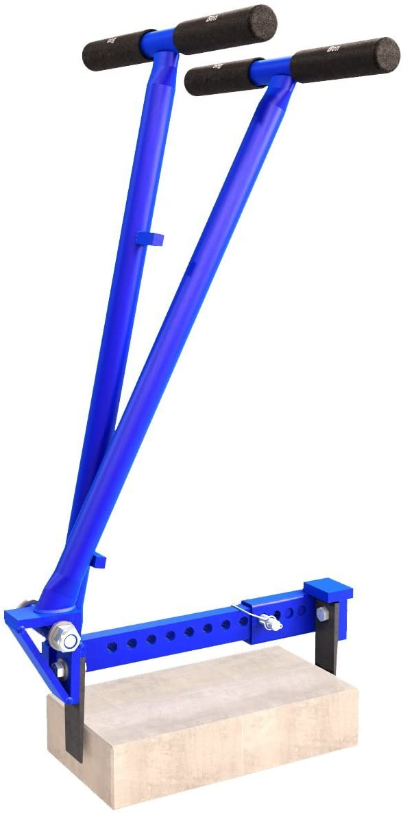 Bon Tool 21-212 Paver Extracting Tongs, Blue