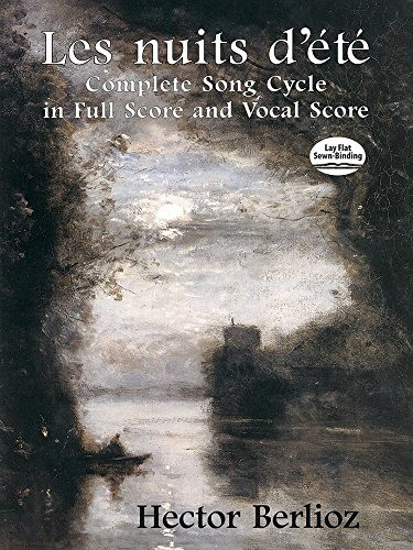 Hector Berlioz: Les Nuits D'Été: Complete Song Cycle In Full Score And Vocal Score by Hector Berlioz (5-Mar-2014) Paperback ()