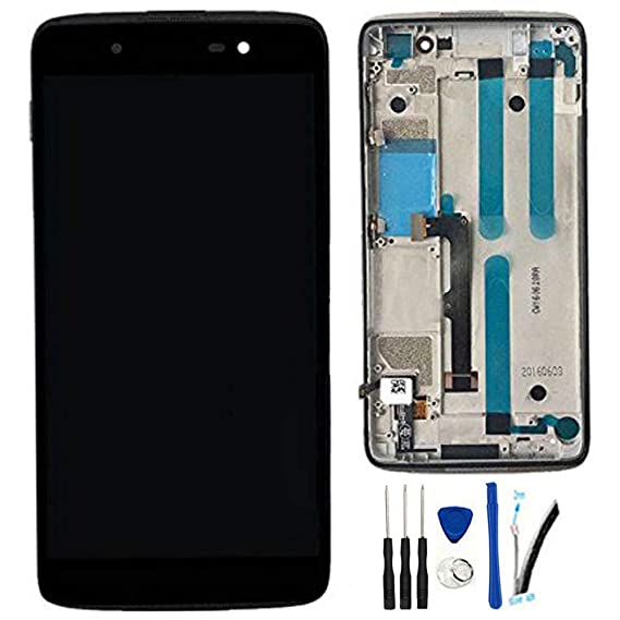 Amazon com: LCD + TP replacement For Alcatel one touch Idol