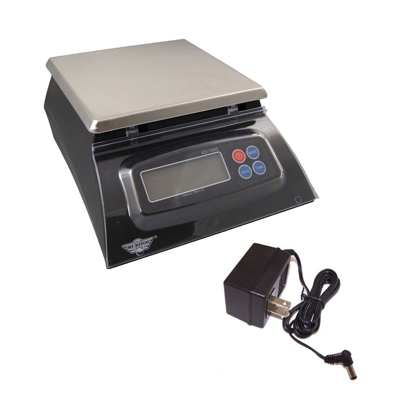 My Weigh KD-7000 Kitchen And Craft Digital Scale, Black + My Weigh AC Adapter by My Weigh
