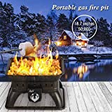 BALI OUTDOORS Firepit Tailgate Gas Portable Fire