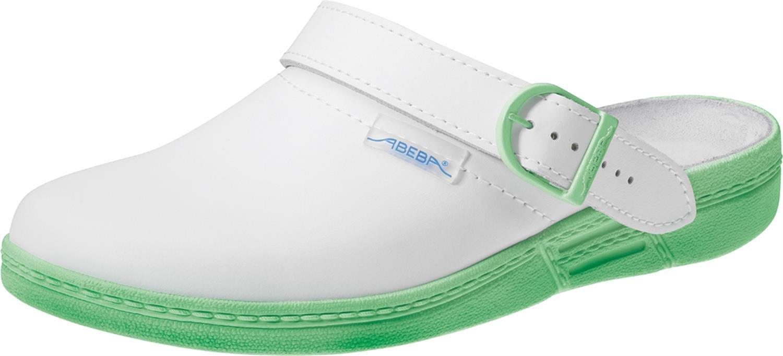 Arbeitsschuhe The Original von Abeba, 7090, 36, minz-green/white