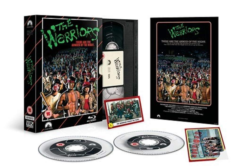 The Warriors - Limited Edition Vhs Collection Dvd + Blu-Ray ...