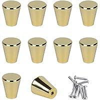 SPDYCESS Set van 10 Kastdeurknoppen met Schroeven Meubelgrepen Handgreep van Aluminiumlegering voor Kast Lade Kleerkast…