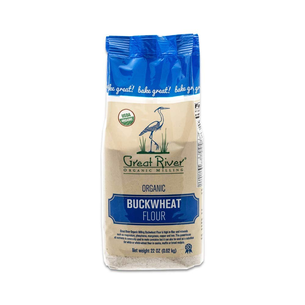 Great River Organic Milling, Specialty Flour, Buckwheat Flour, Organic, 22 Ounces (Pack of 4) by Great River Organic Milling (Image #4)