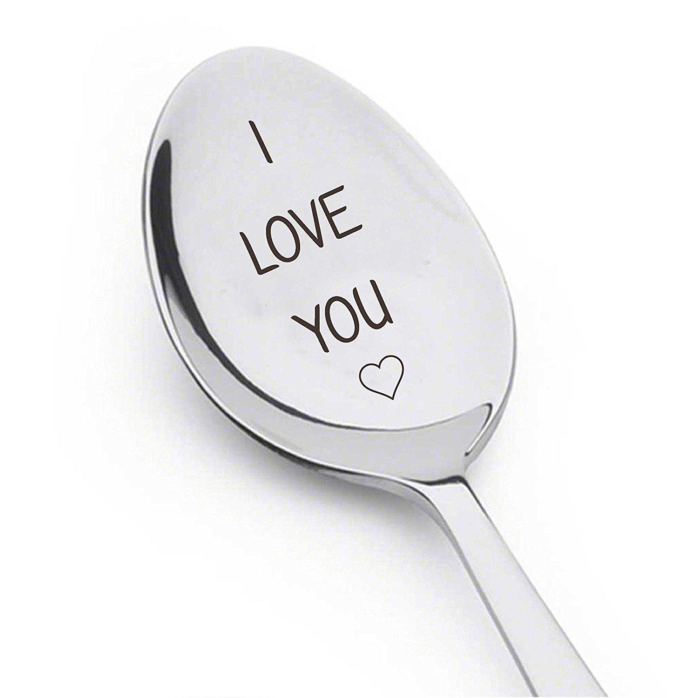 I love you like XOXO Kaffee Lover Geschenk Romantisches Geschenk Owl Always Love You love you L/öffel I love you a sp/ät Love Sie mehr als Kaffee I love you Darling Let Love Brew L/öffel
