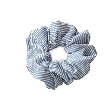 Frauen elastisches Haar Seil Ring Krawatte Scrunchie Pferdeschwanz Inhaber F DDE