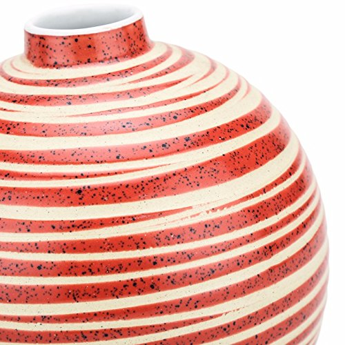 Unravel India ceramic red pot vase by Unravel India (Image #2)