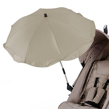 Diago - Parasol para carrito de bebé, color beige