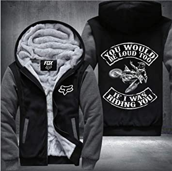 LOUD TOO冬に適し厚手のフード付きセーターコートフリースパーカーを、印刷BE YOUWOULDメンズパーカーのフルジップベルベット