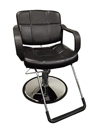 Merveilleux 20u0026quot; Wide Hydraulic Barber Chair Styling Salon Beauty Equipment    DS 5001W NEWBlack