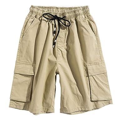 03f3f74d351dc GKOKOD-Shorts 2019 Herren Kurze Hose, Cargo Hosen Kurz Beiläufig Outdoor  Tasche Hose Arbeit Hose Strand Ausgebeult Kurze Hose Pants, Kurze Jogging  Hosen ...