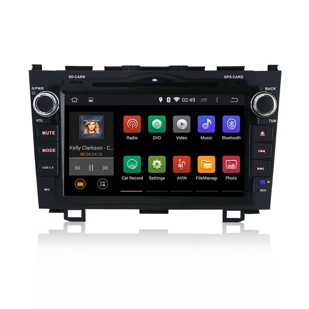 Amazon.com: Ouku TNJY-8815 JY 8-Inch Android DVD Player with Biult in wifi,  3G, GPS Navigation for Honda CRV 2008, 2009, 2010, 2011: Car Electronics