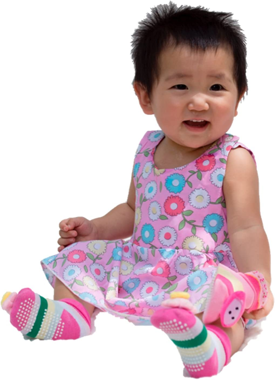 Nonika Baby Toddler Girl Floral Batik Sleeveless Mini Dress