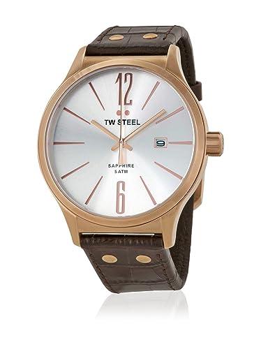 TW Steel Reloj analogico para Hombre de Cuarzo con Correa en Acero Inoxidable TW1304: Amazon.es: Relojes