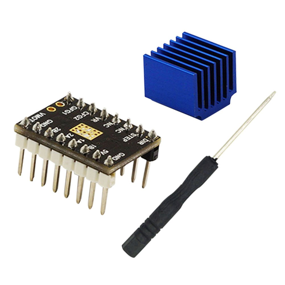 UKCOCO TMC2100 V1.0 Stepper Motor Mute Stepstick Driver Controller Silent Excellent Stability Protection with Heat Sink for 3D Printer Parts MakerBot