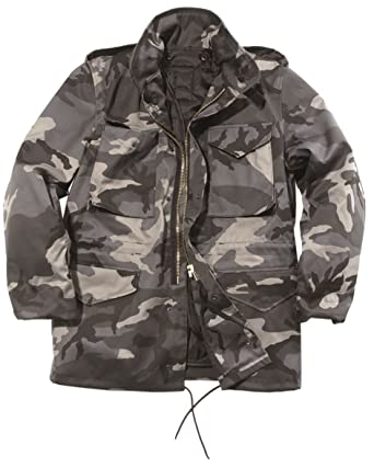 d34941b25bd Mil-Tec Men s Us Style M65 Field Jacket with Liner at Amazon Men s Clothing  store