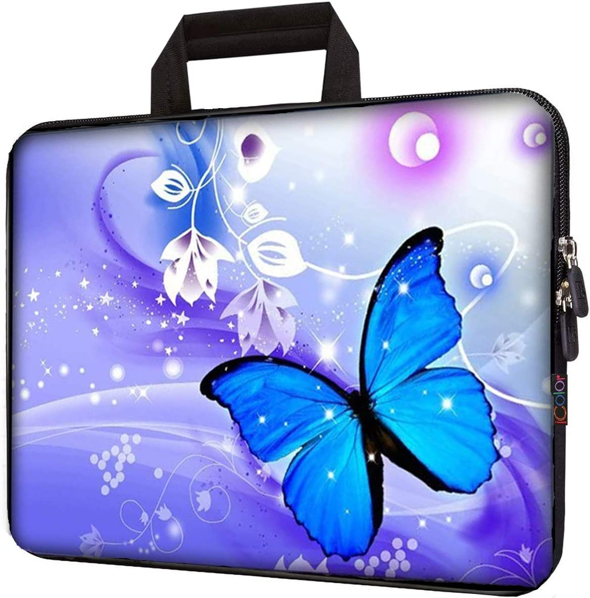 City in The Winter Train Laptop Sleeve Bag Water-Resistant Protective Case Bag Compatible with Any Notebook AM024706 13 inch//13.3 inch C COABALLA Laptop Bag Nursery Activity